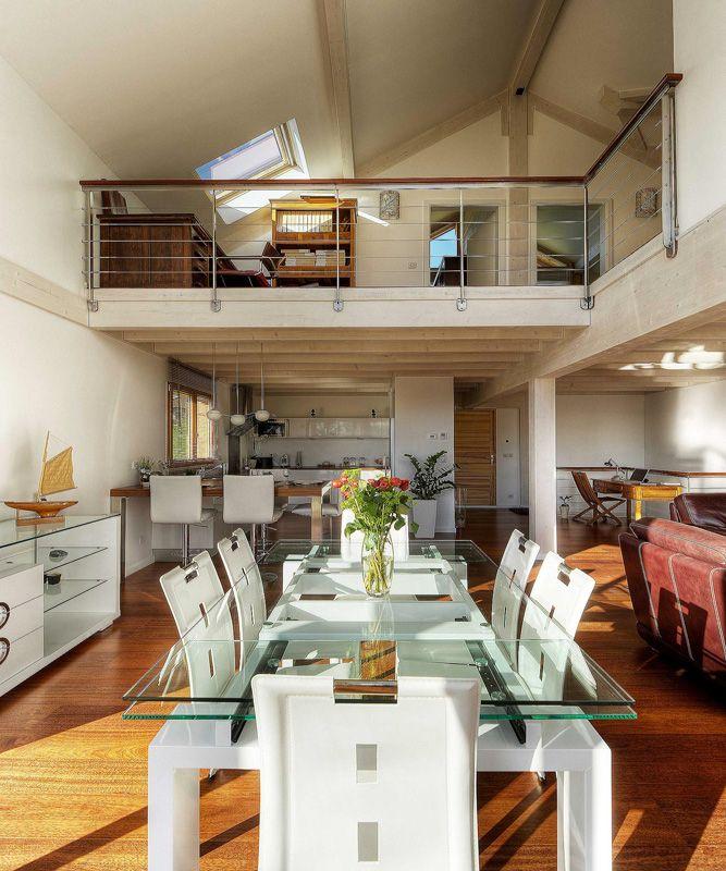 Une maison bois en poteaux poutres et verre aux OllièresTiffany - Plan De Construction D Une Maison