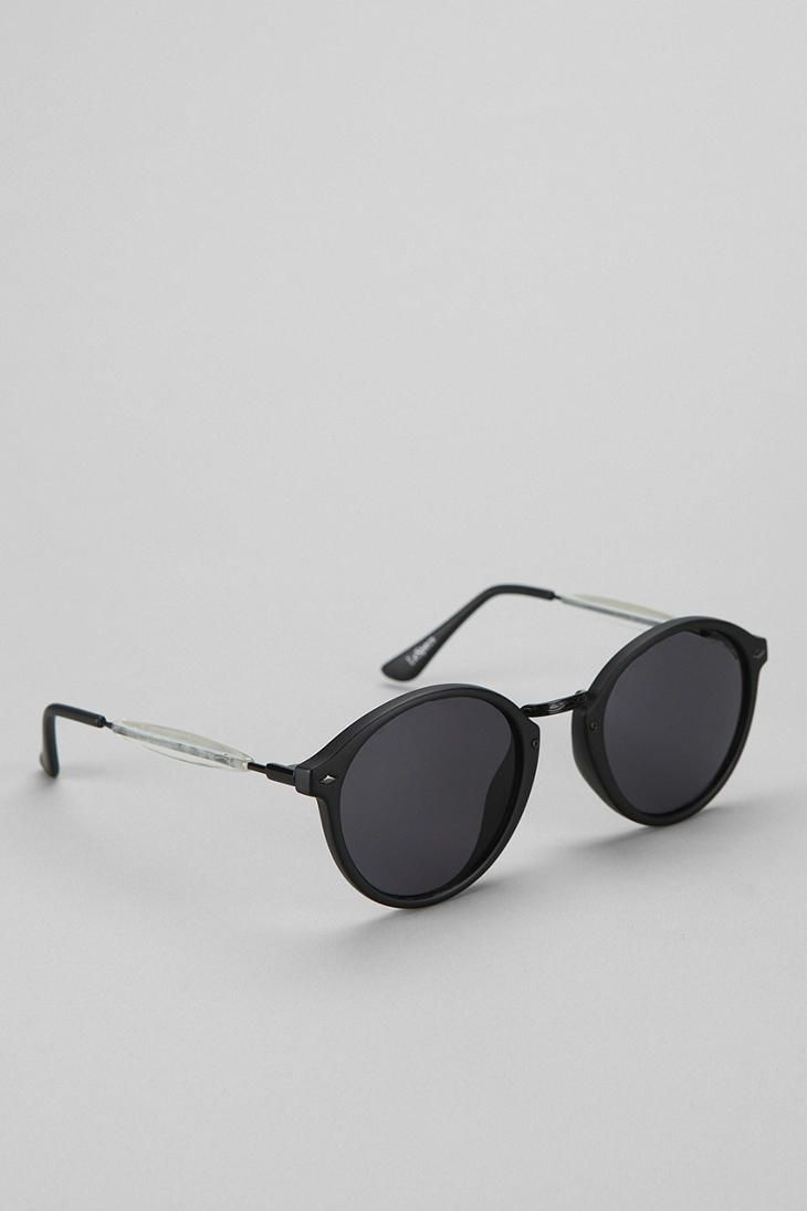 Le Specs Alohaha Round Sunglasses  - Urban Outfitters