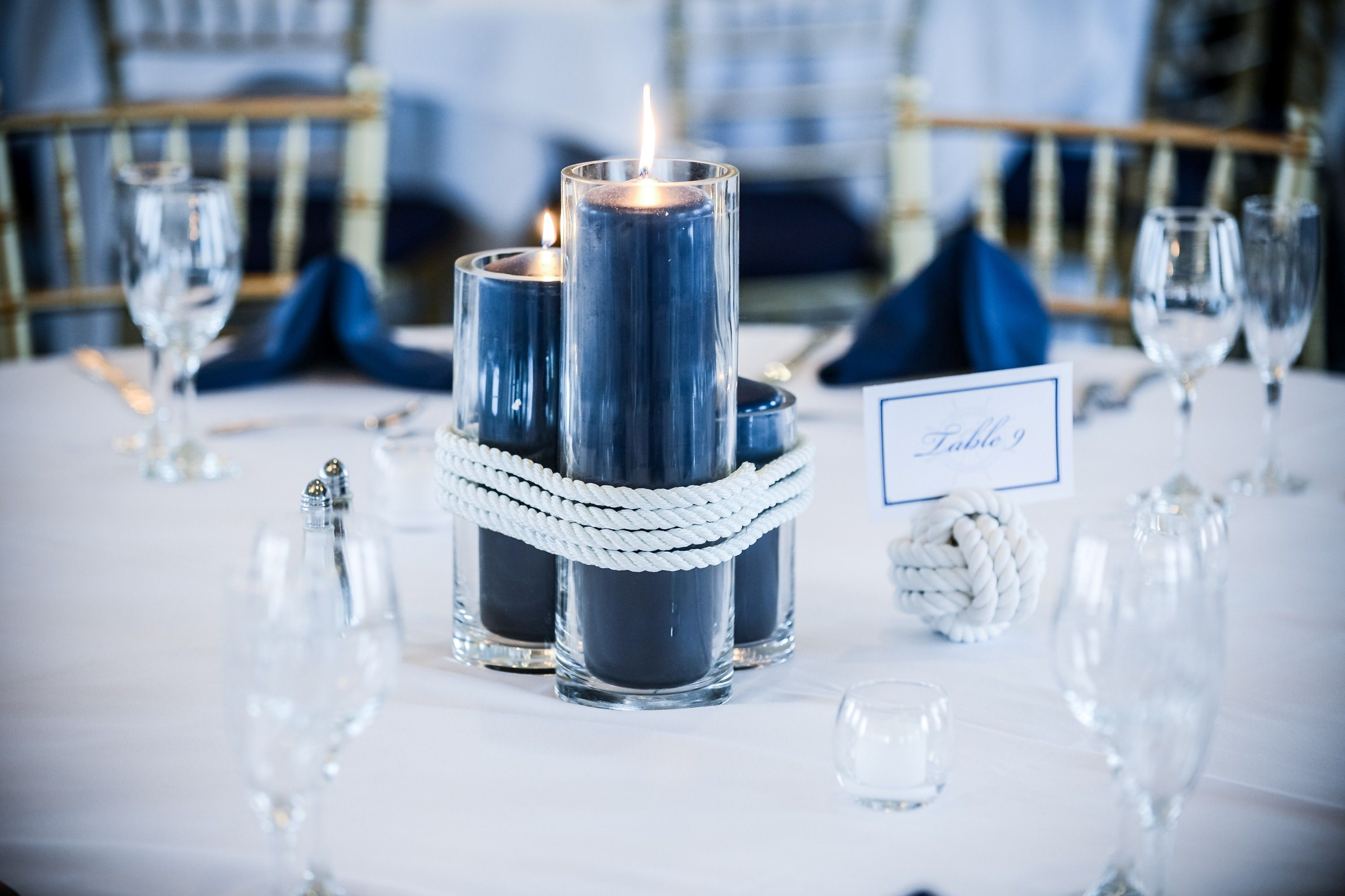 navy blue and silver wedding decorations | Nice Decoration | Wedding ...