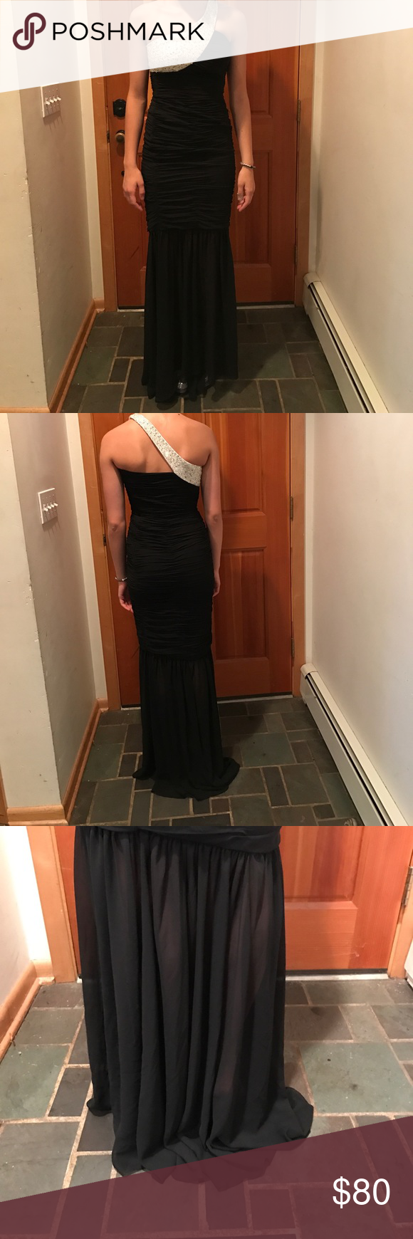 Faviana Couture One Shoulder Long Gown Faviana Couture bought at ...