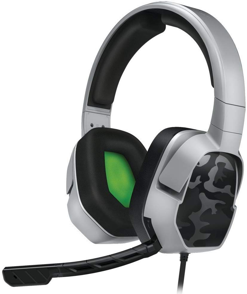 8a8e736bab77 PDP Xbox One LVL 3 Stereo Gaming Headset 048-041-NA-YCAM Grey Camo Price  14