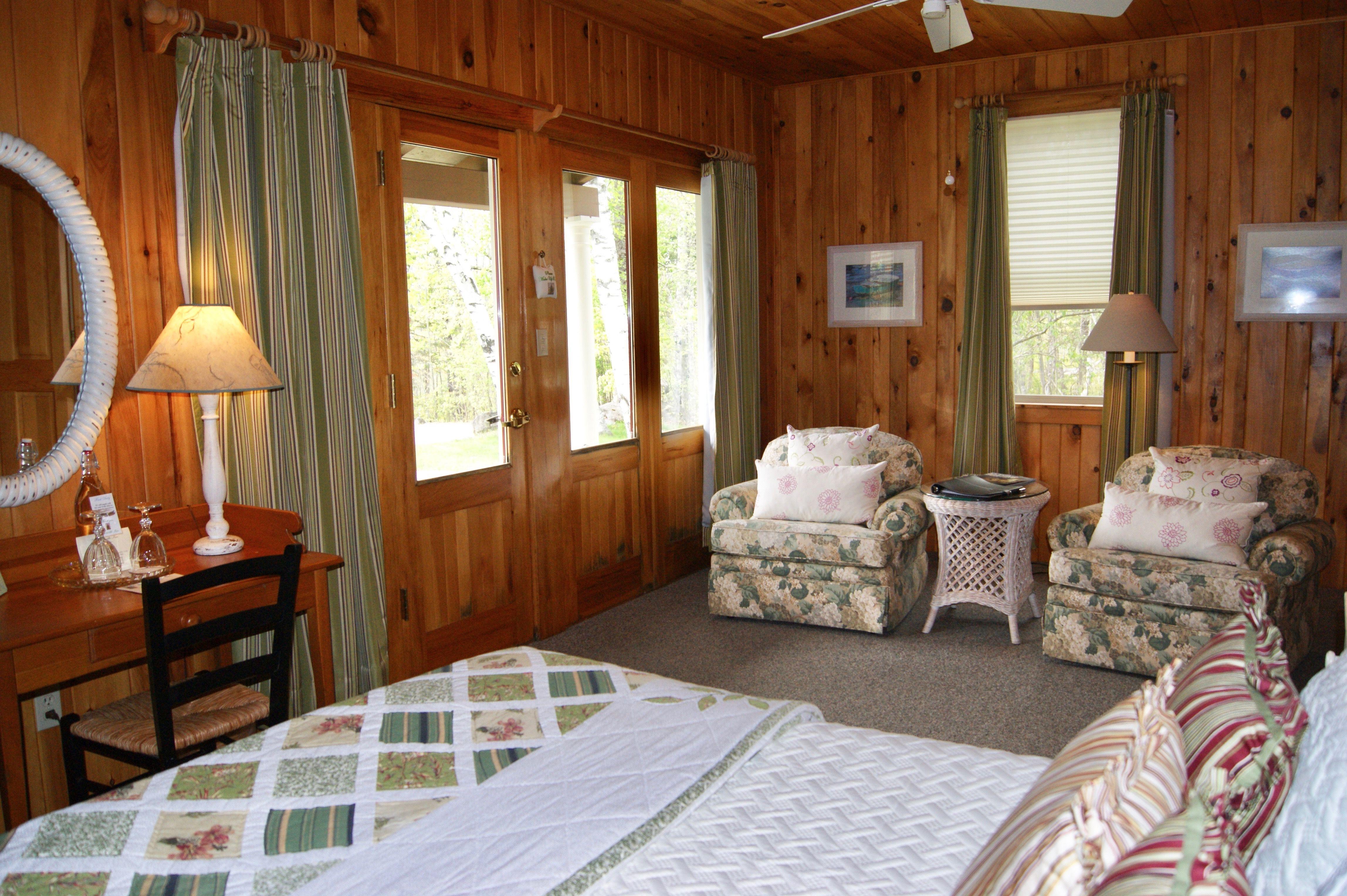 Cottage 3 gardencottage Mooseheadlake Maine Elegant