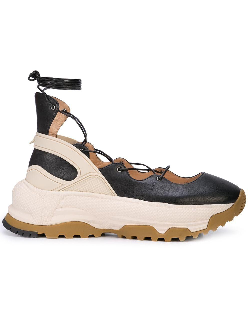 Coach platform ballerina sneakers