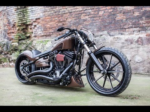 h d breakout custom nine hills motorcycles youtube. Black Bedroom Furniture Sets. Home Design Ideas
