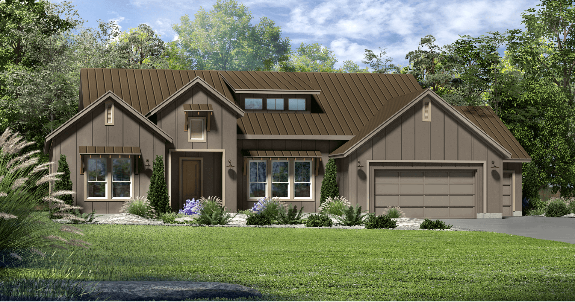 Model New Home Plan Kissing Tree San Marcos TX – Kissing Tree Site Plan