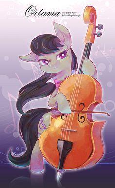 Octavia Melody on Pinterest   MLP, deviantART and My Little Pony ...