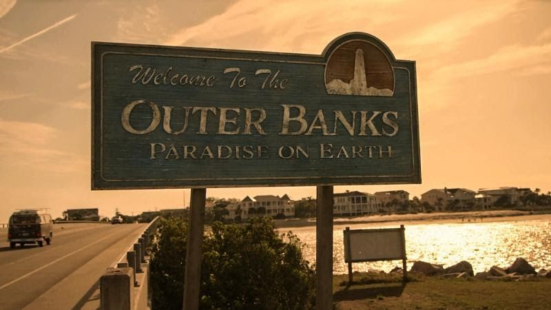 Filming Locations Guide Where Is Outer Banks Filmed The Real Kildare County Island L Paradise On Earth Photo Wall Collage Outer Banks North Carolina Vacation