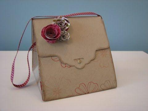 ▶ Stampin Up Handbags - YouTube