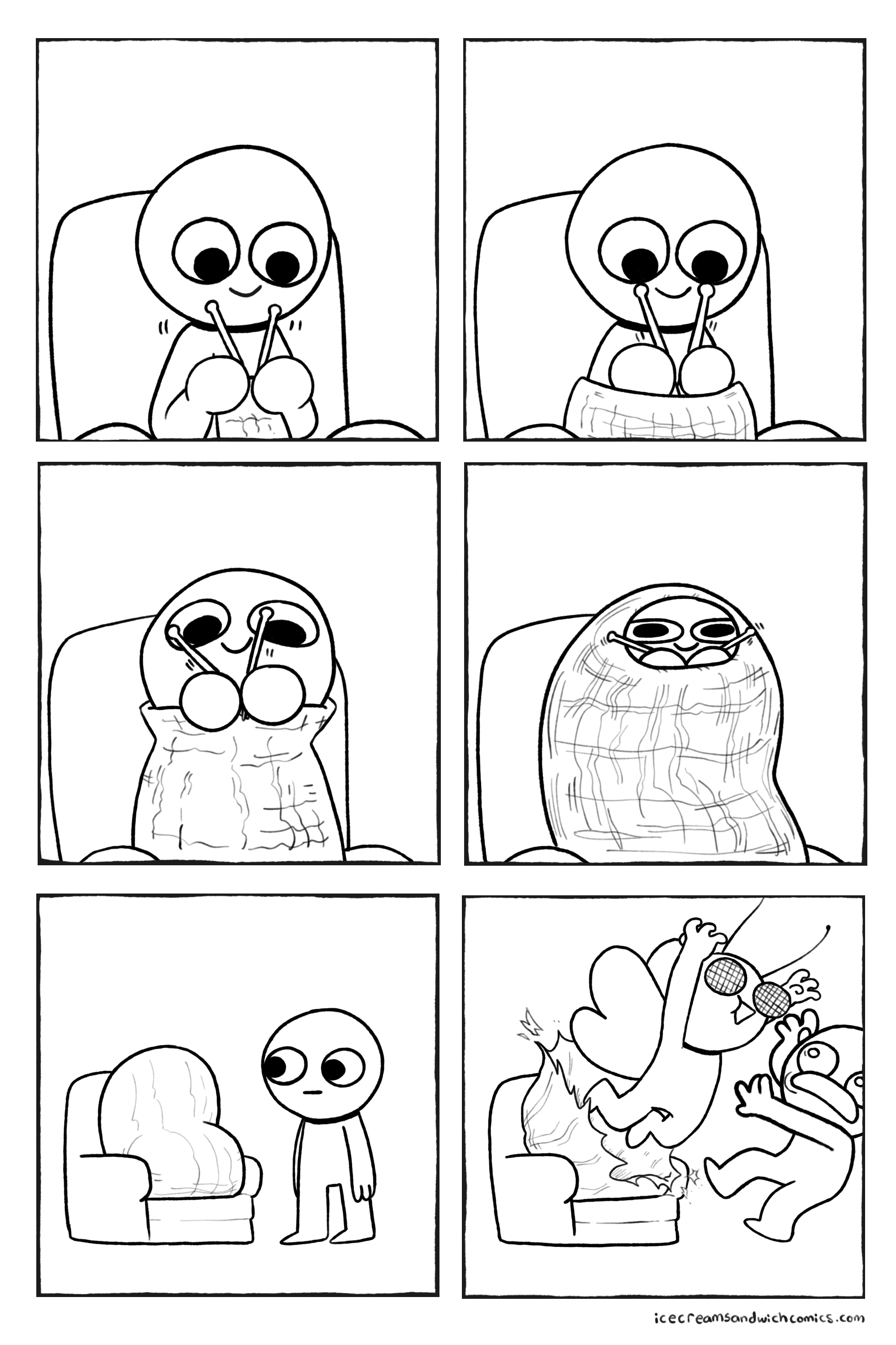 New Funny Comics Been getting into knitting lately Been getting into knitting lately - Album on Imgur 6