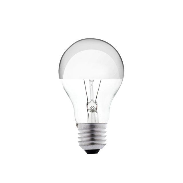 Bombilla de filamento con c pula de espejo iluminacion lamparas decoracion interiorismo - Espejo con bombillas ikea ...