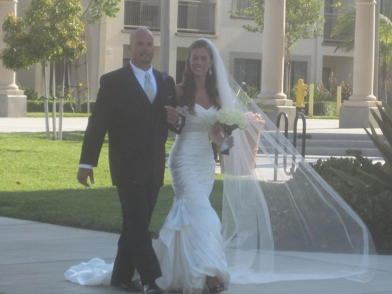 Wedding Dress Single Layer Cathedral Veil