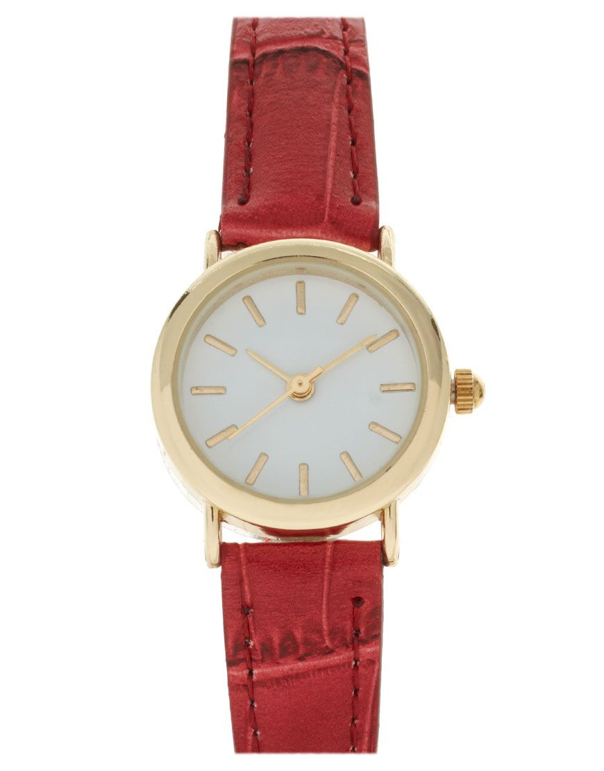 ASOS Vintage Look Round Dial Watch. Classic beauty.