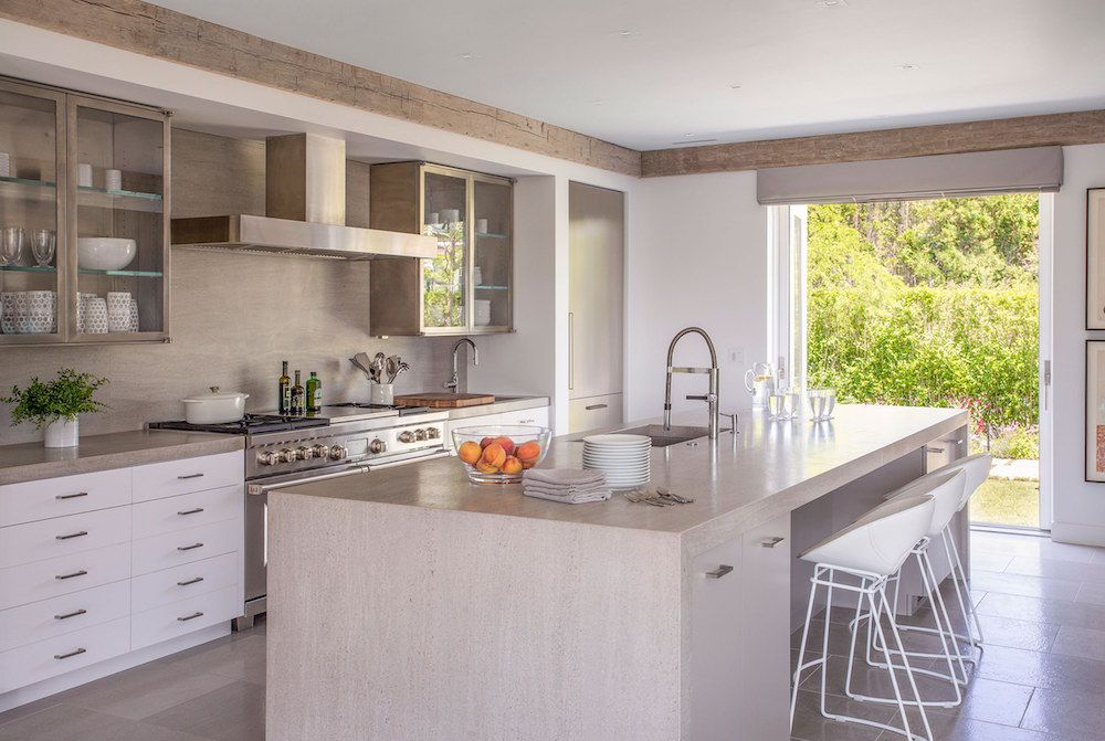 Cape Cod #kitchen Design With #neutral Finishes And #modern Fixtures Part 79