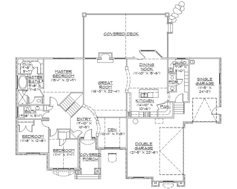 Rambler House Plans With Basements Professional House Floor