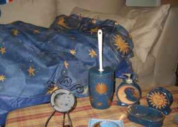 Sun Moon And Stars Bathroom Collection