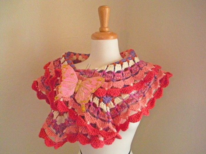 spring crafts: colorful scraves, free crochet patterns | make ...
