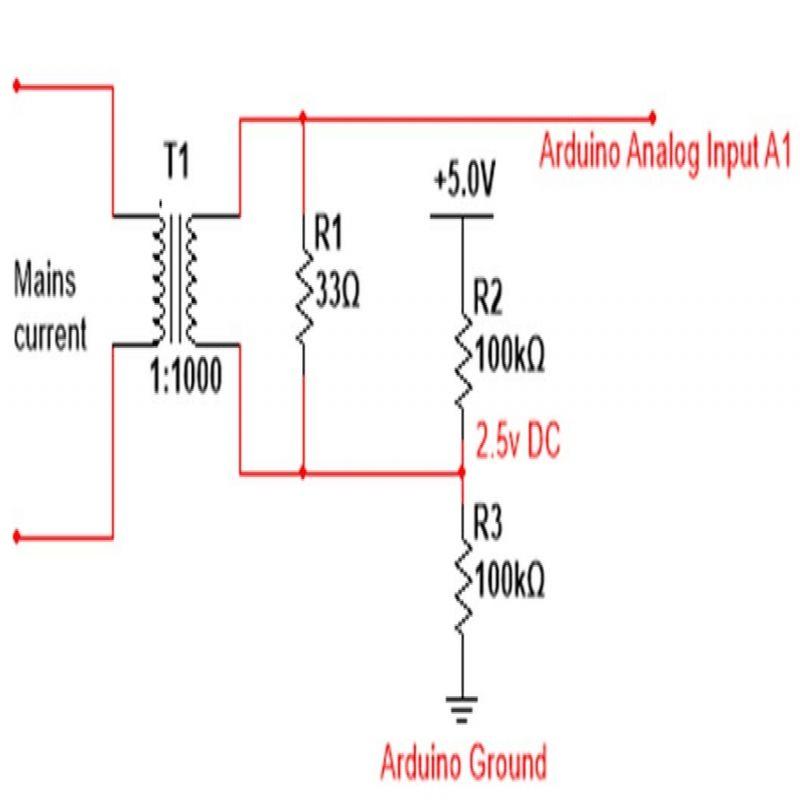 Current Sensor Circuit Diagram Circuit Diagram