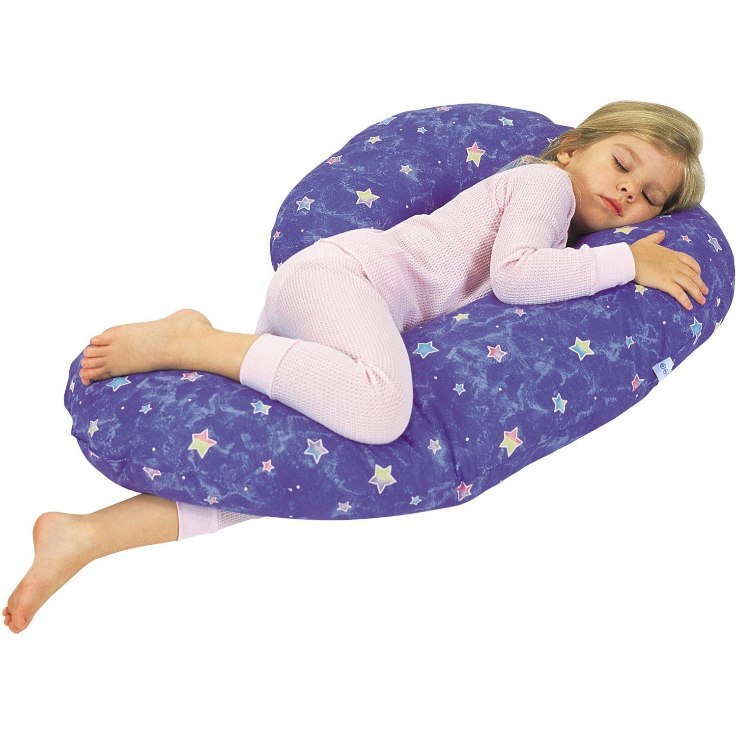 Pillow Chair For Kids - Lil snoogle child size body pillow by leachco