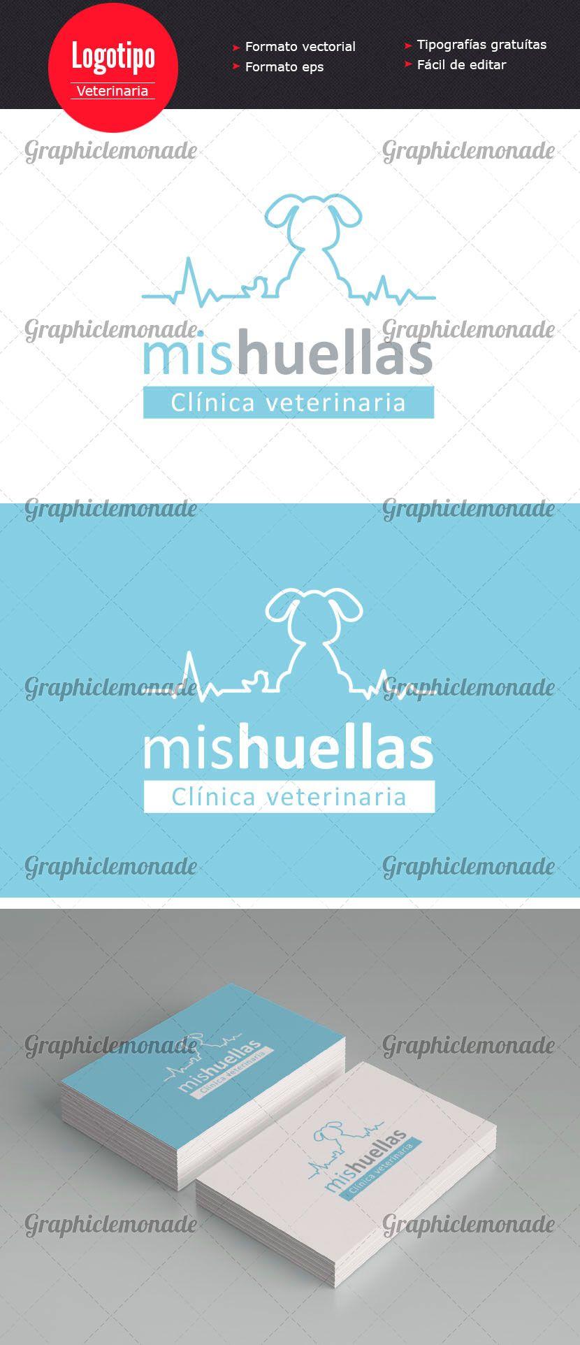 Logotipo Clínica Veterinaria | Ainaragm | Diseño Gráfico | Pinterest ...