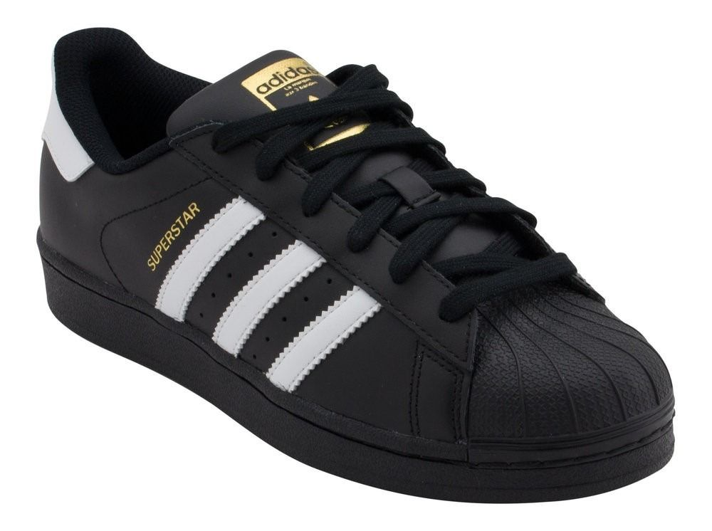 Adidas Superstar Negras Black | Zapatillas adidas negras ...