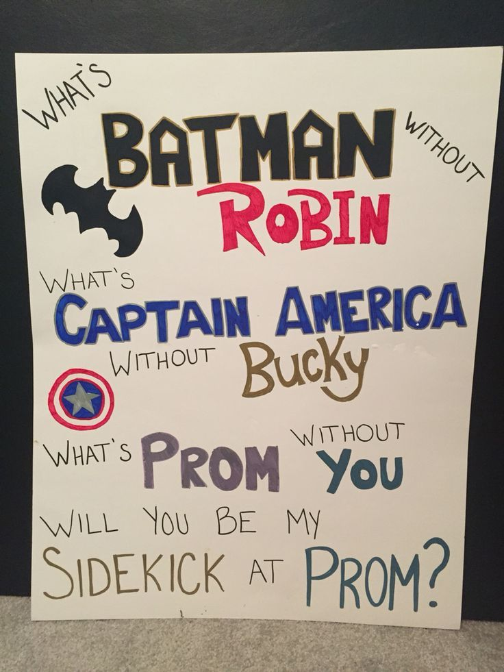 Need an idea to ask your superhero boyfriend to prom  Here s a simple way toHere are 14 ideas you can use to ask your guy to the dance    Its  . Fun Day Date Ideas For Prom. Home Design Ideas