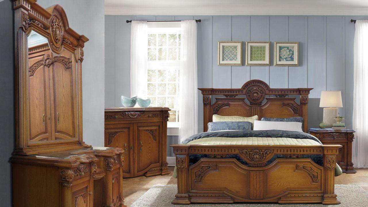 Aro Wood غرفة نوم كلاسيك Classic Bedroom Home Home Decor