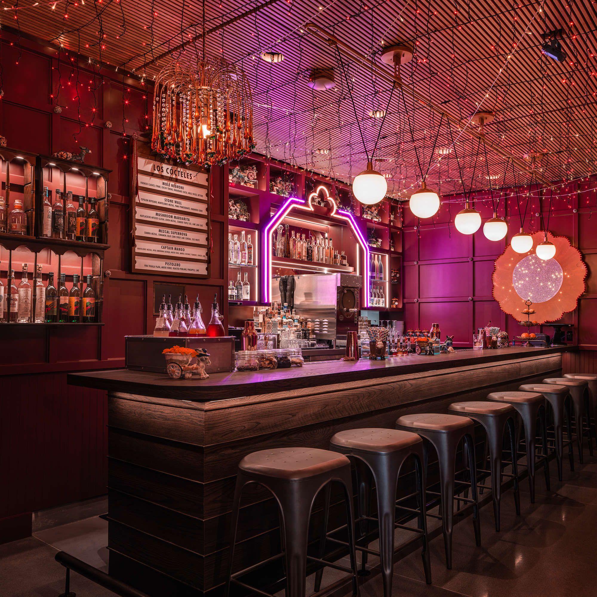 Agave Cocktails At Ghost Donkey Las Vegas An Offshoot Of Nacho Jimenez S New York Tequila And Mezcal Bar Cosmopolitan Las Vegas Hidden Bar Las Vegas Dining