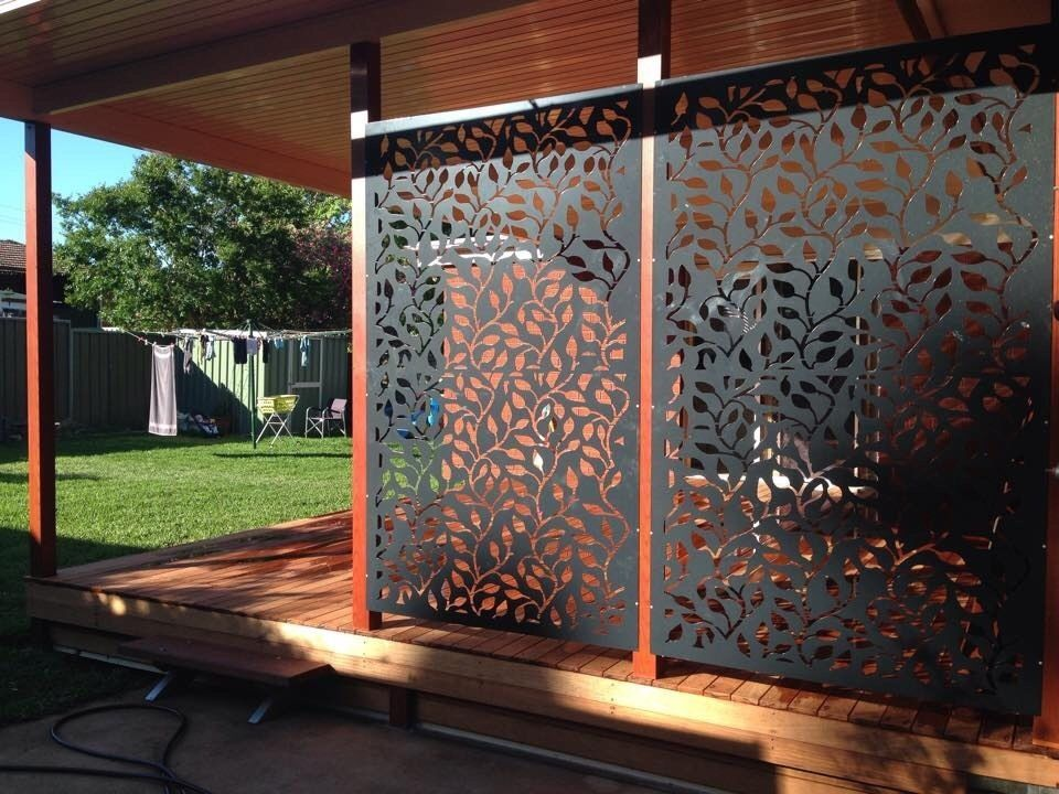 Metal Privacy Screen pierre la roux creates decorative metal screens in the melbourne
