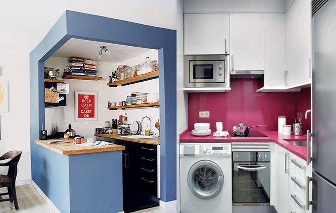 Cozinha pequena1 cozinhas pequenas pinterest for Como pintar una casa pequena