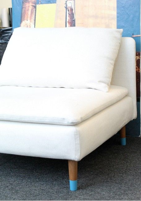 Ikea Soderhamn With Pretty Pegs Furniture Legs Furniture Couch