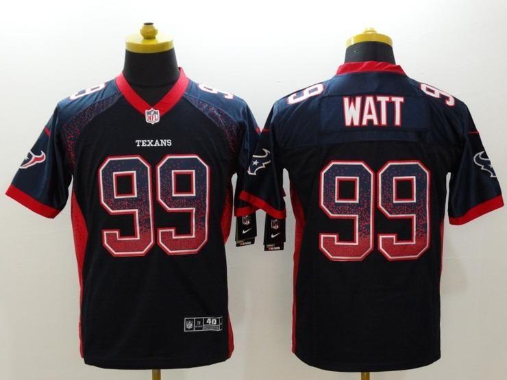 55cc54d3 Men 99 James Watt Jersey Football Houston Texans Jersey | NFL ...