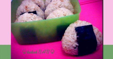 Resep Onigiri Abon Oleh Hayunanda Resep Resep Makanan Nasi