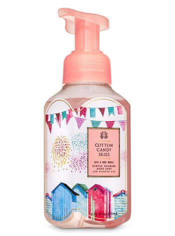 Cotton Candy Skies Gentle Foaming Hand Soap In 2020 Cotton Candy