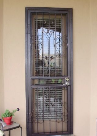 Cool Security Screen Doors With Contemporary Designs Door Models