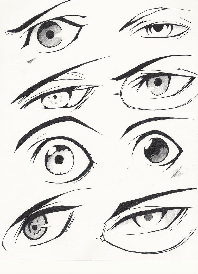 Boy Anime Eyes : anime, Exquisite, Learn, Manga, Ideas, Anime, Drawing,, Drawings, Tutorials,, Drawing