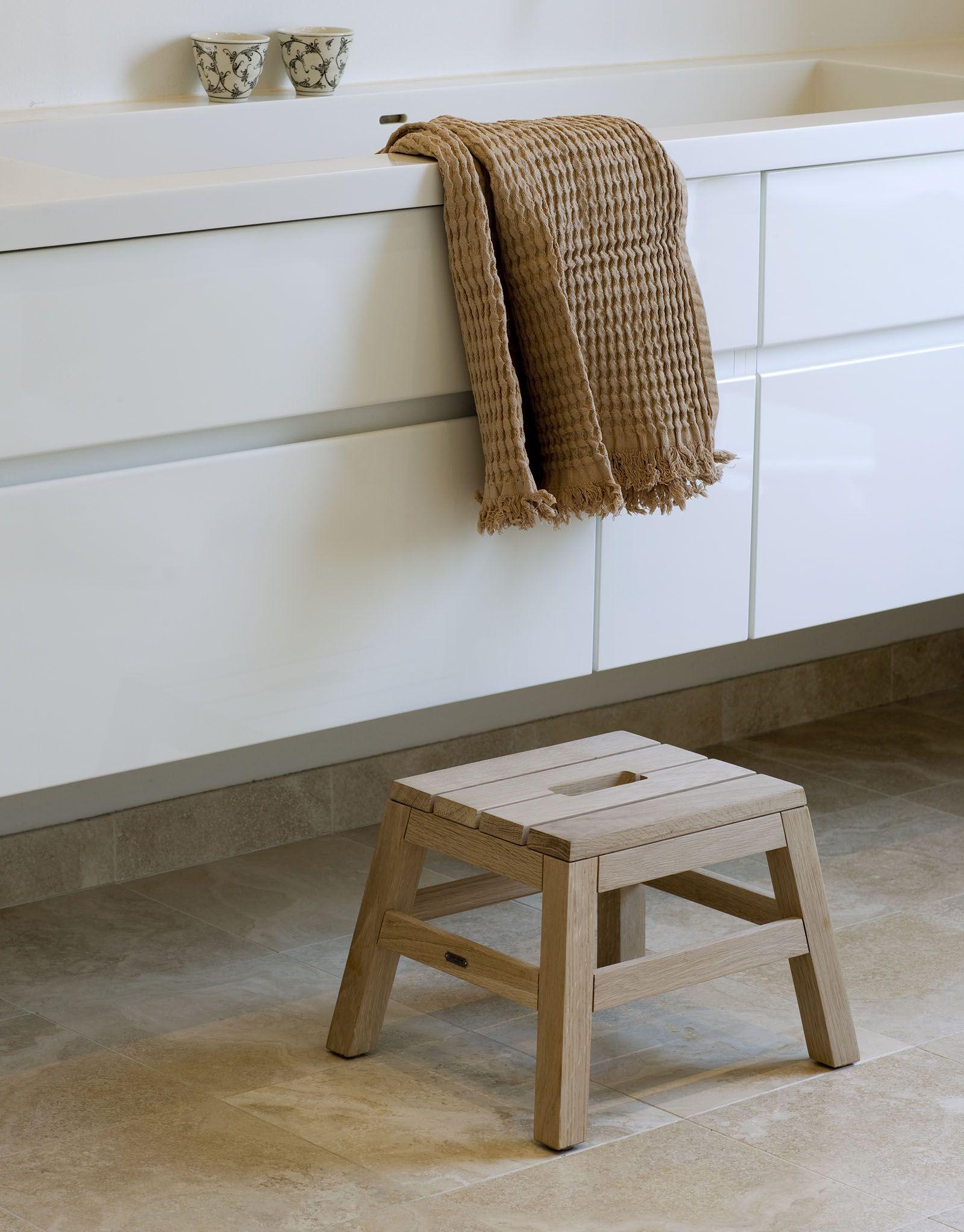 Dania Stool Skagerak Nordic Simplicity Scandi Bathroom