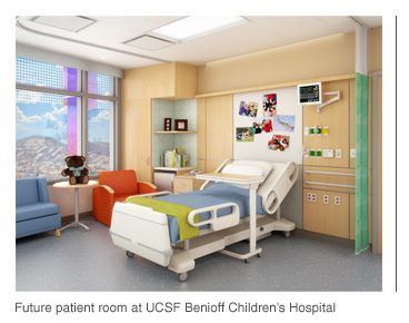 ucsf patient room | Patient Room Ideas in 2019 | Childrens hospital