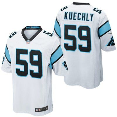 outlet store f9f5d 34df6 Nike Luke Kuechly Carolina Panthers Youth Game Jersey ...