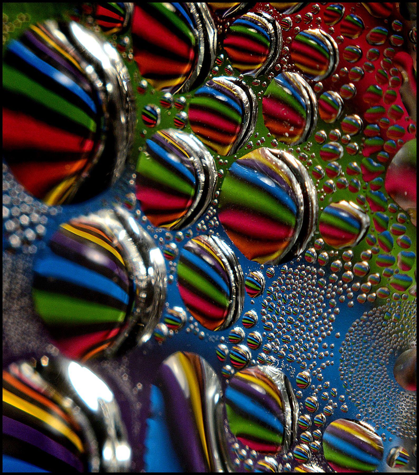 So many stripes! So many drops!