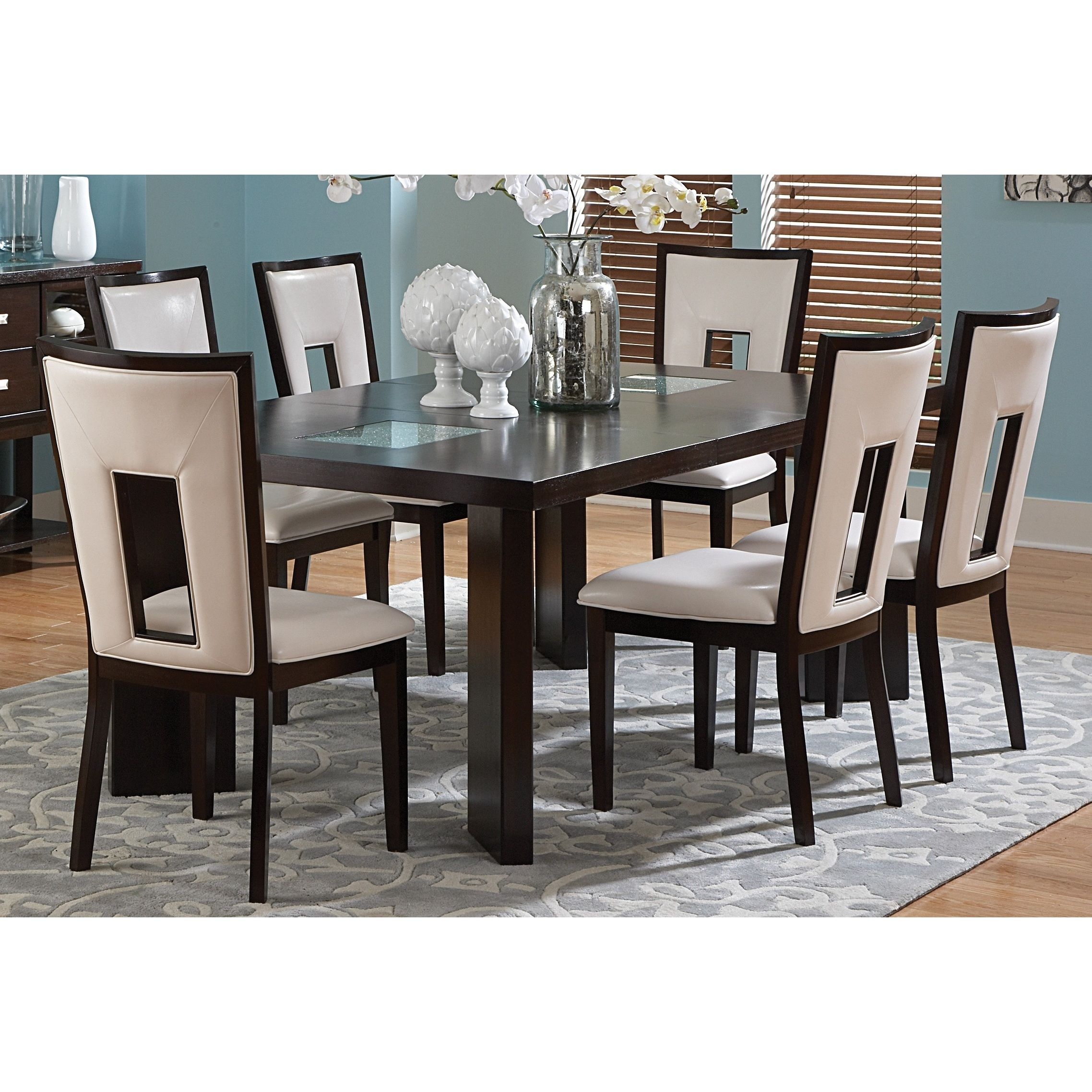 Greyson Living Domino Medium Espresso Dining Set by Greyson Living