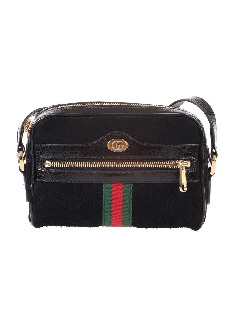 d85a8a6de83 Gucci Black suede Ophidia mini bag - Nero