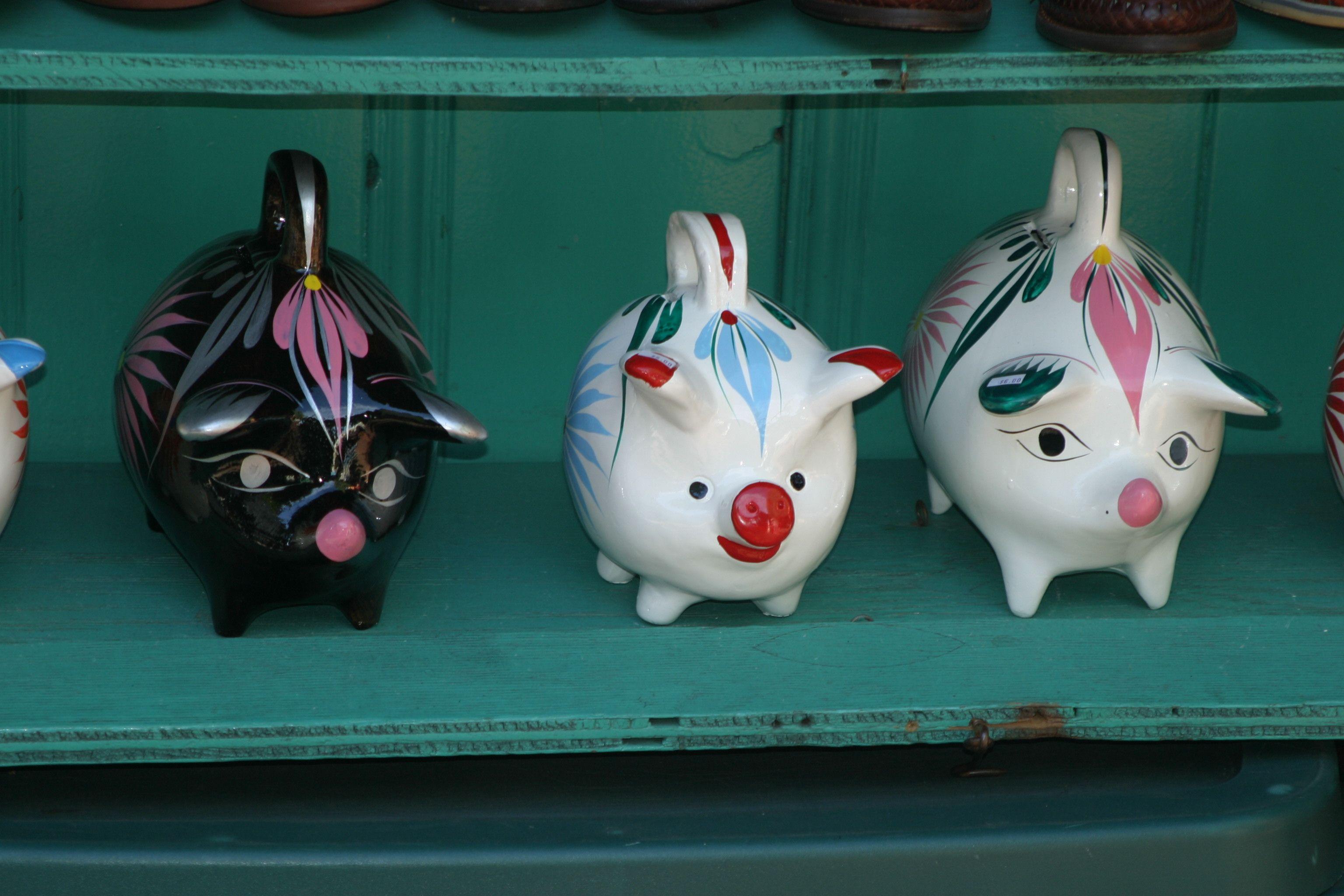 Piggy Banks at Olvera Street