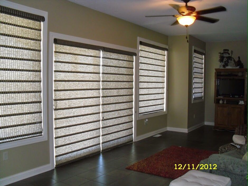Sliding Patio Doors Dont Always Have To Be Treated Wth Something