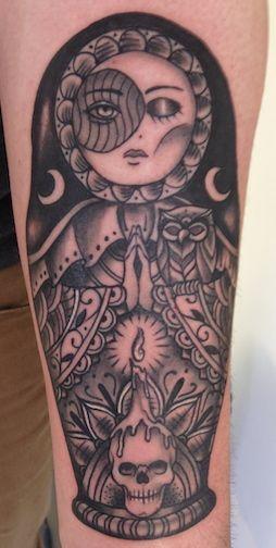 peruvian girl matryoshka tattoo card photo 1 poup es pinterest id e tatouage tatouages. Black Bedroom Furniture Sets. Home Design Ideas