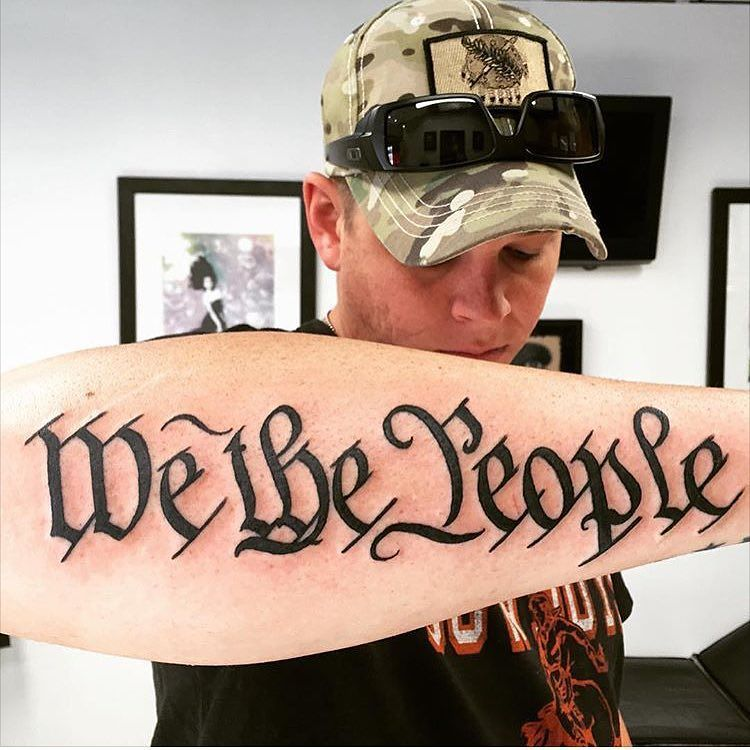We The People Bicep Tattoo | www.pixshark.com - Images ...
