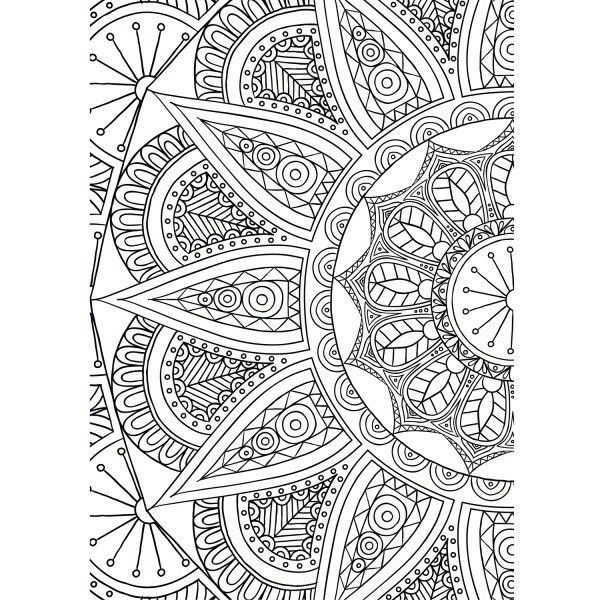 Pin Di Rosalba Chessa Su Mandala Complessi Adult Coloring Pages