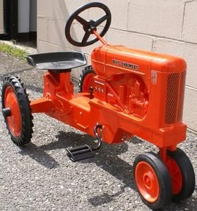 Hard to Find Allis Chalmers WD 45 Pedal Tractor NIB Made in