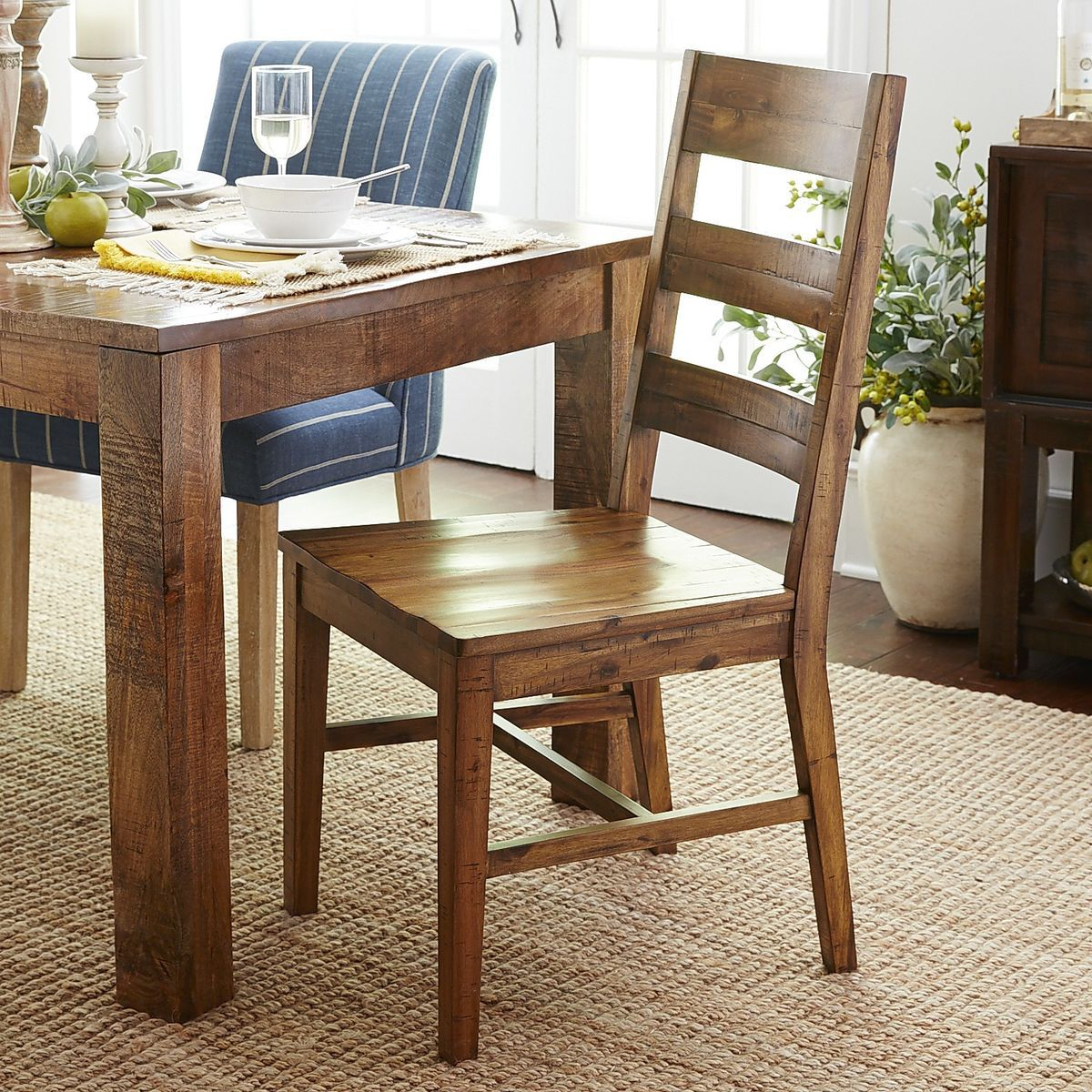 Parsons Java Dining Chair  Java Dining Chairs And Solid Wood Captivating Dining Room Chairs Pier One Inspiration