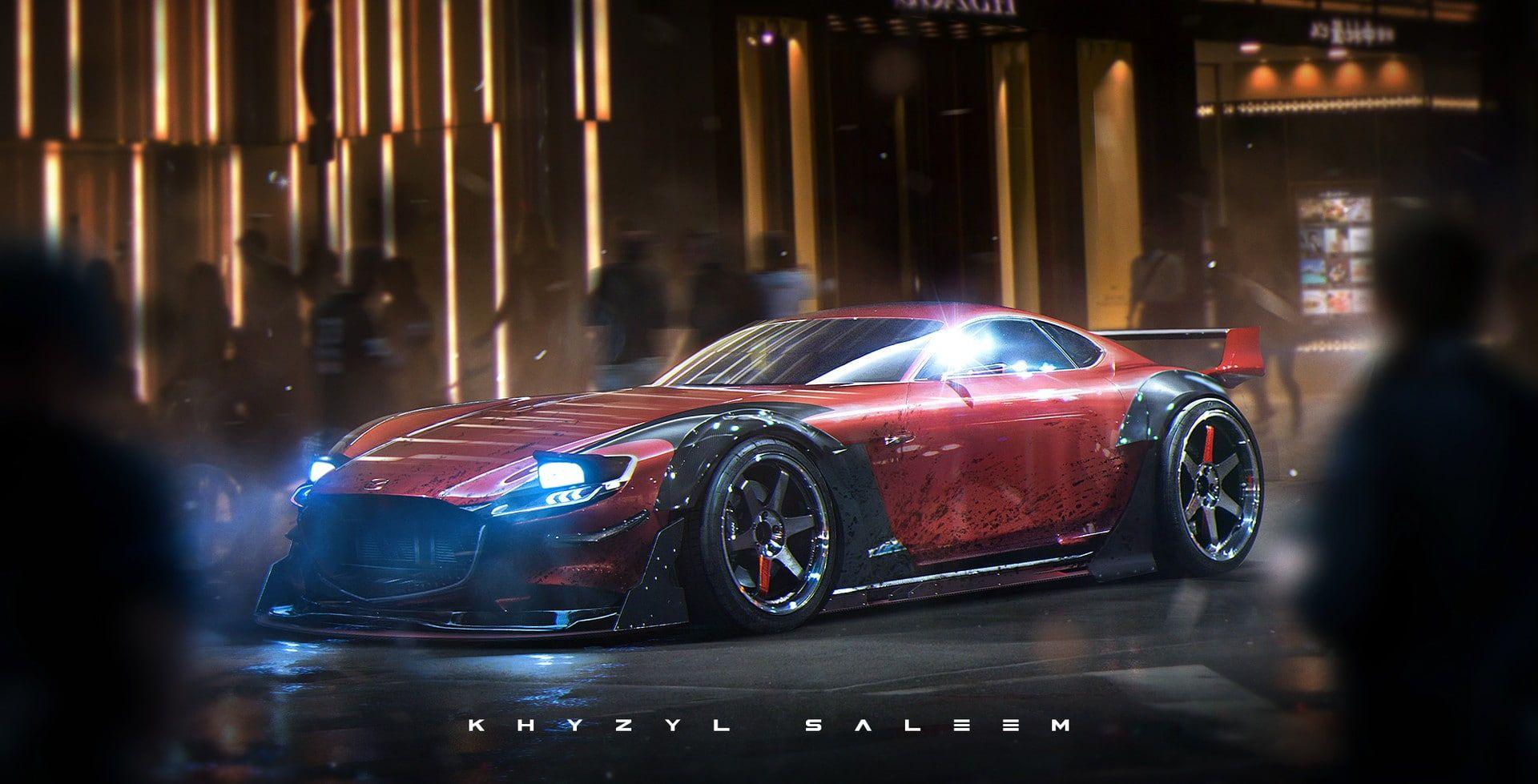 Car Mazda Rx Vision Khyzyl Saleem 1080p Wallpaper Hdwallpaper Desktop Concept Cars Super Cars Car Wallpapers