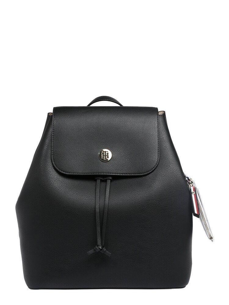 Tommy Hilfiger Tasche Charming Tommy Backpack Damen Schwarz Grosse One Size Tommy Hilfiger Taschen Taschen Und Tommy Hilfiger